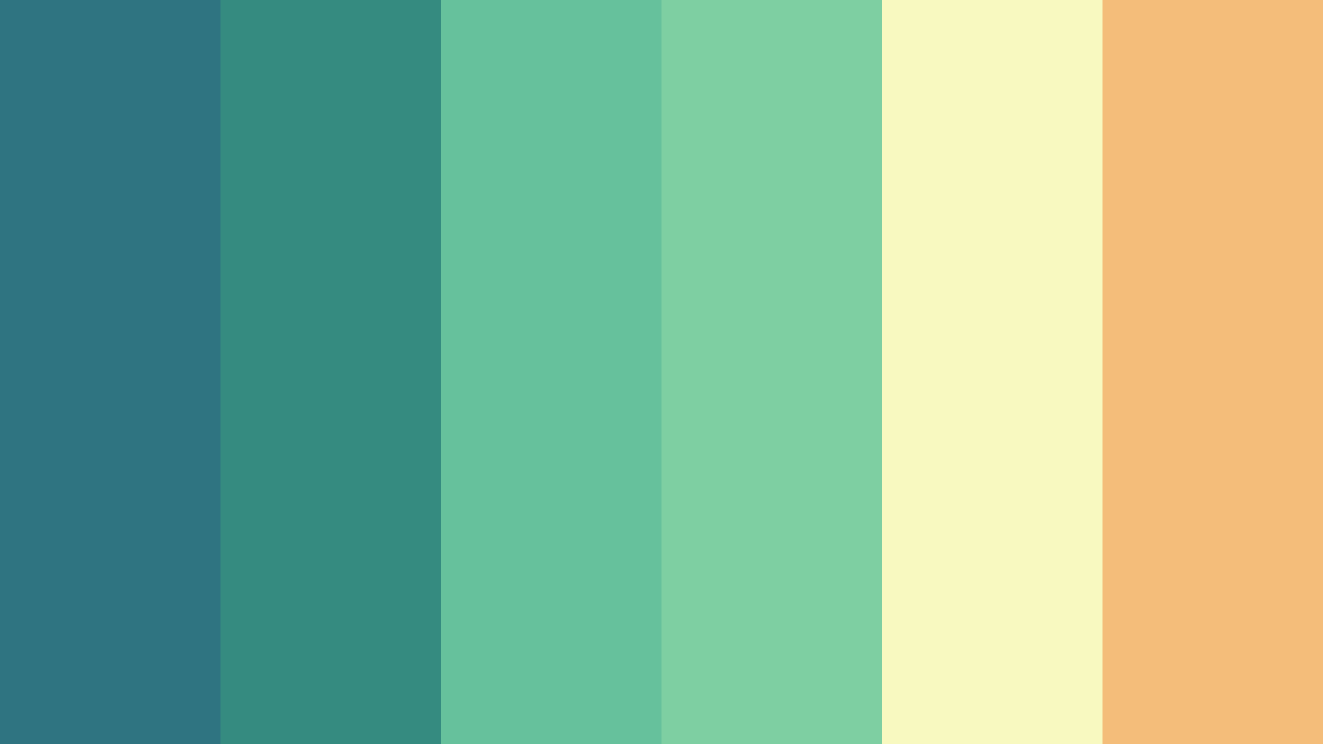 Driving By The Sea Color Palette