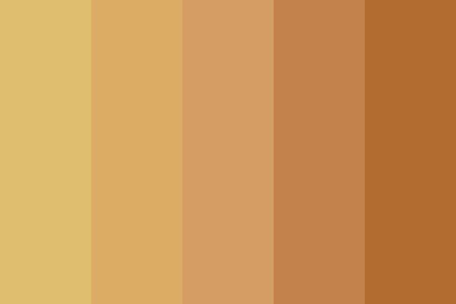 Drowsy Sunset Color Palette