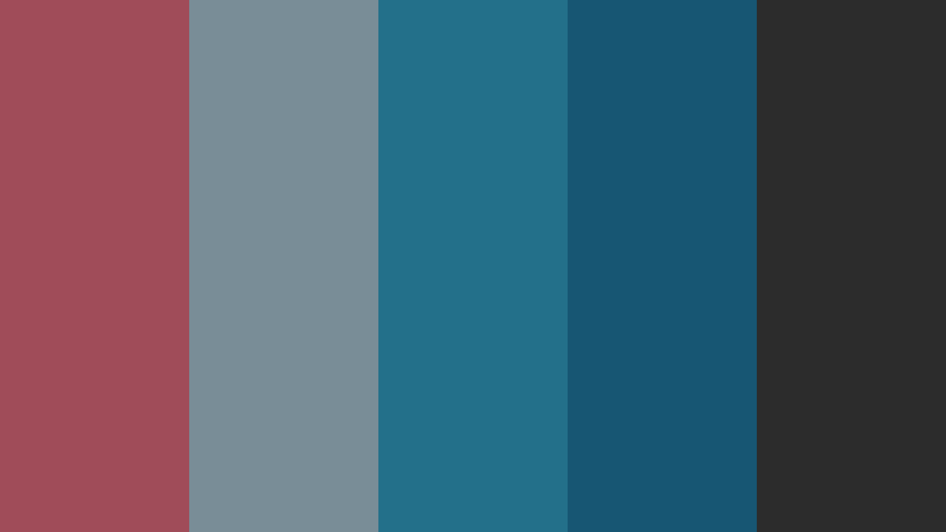 Dull And Dark Color Palette