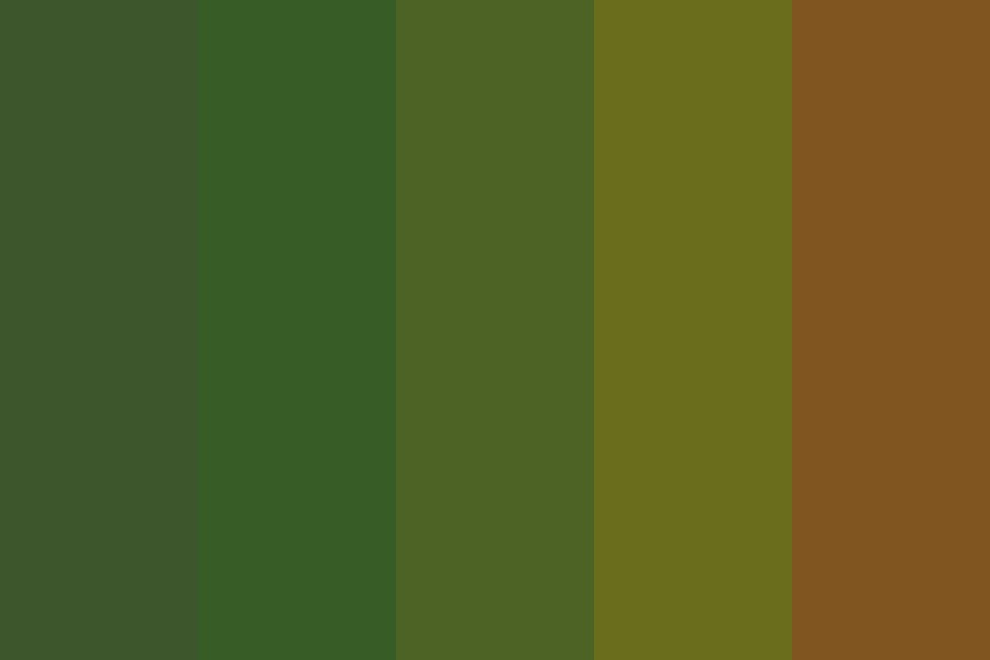 Dull Christmas Color Palette