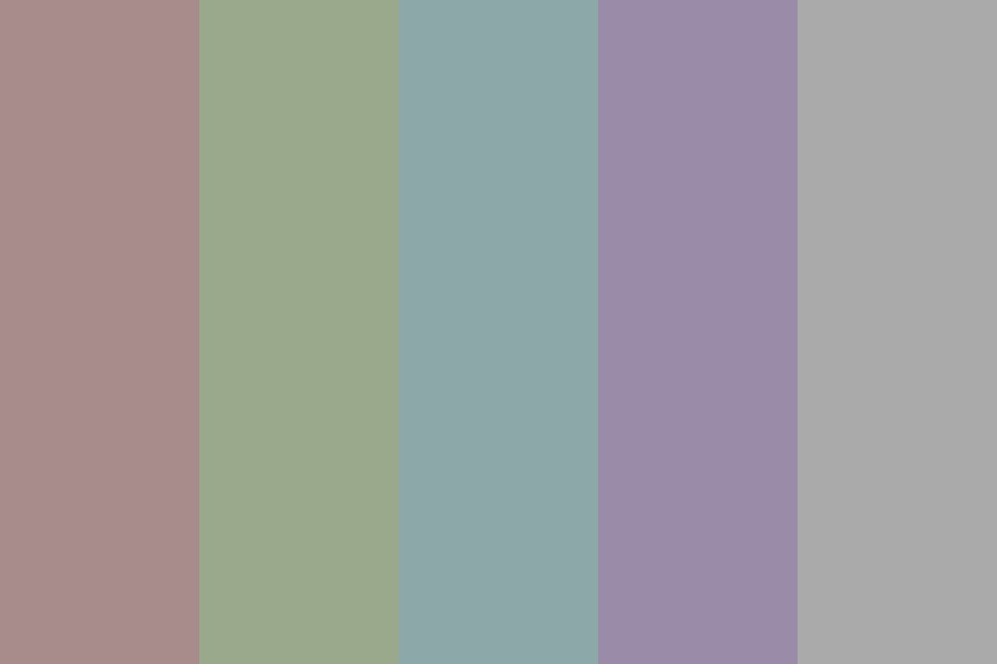 Dull Color Palette