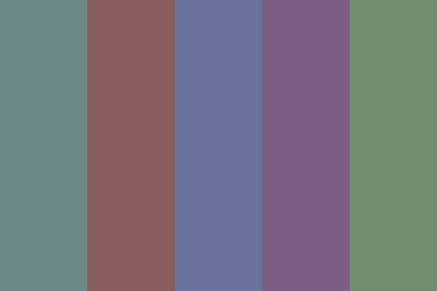 Dull Colors Color Palette