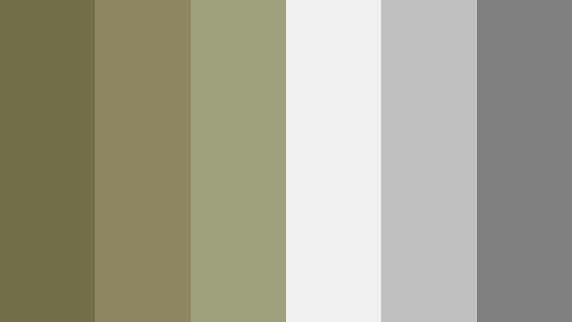 Dull Green And Gray Color Palette