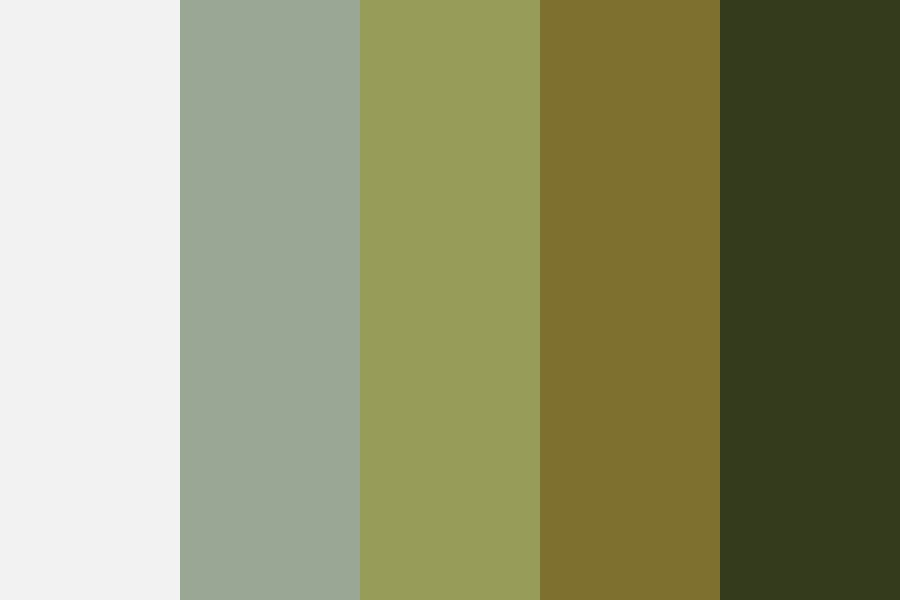 Dull Spring Grass Color Palette