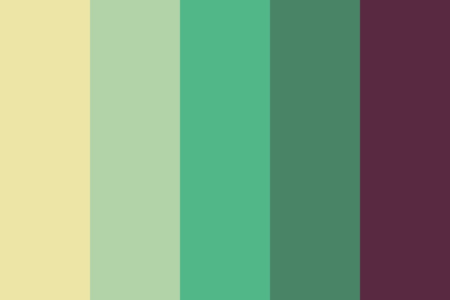 Dulled Alexandrite Color Palette