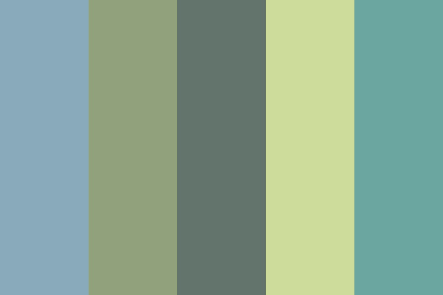 Dulled Color Palette