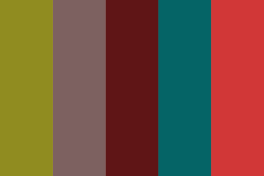 Dullfase Color Palette
