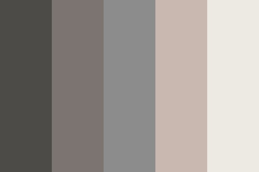 Dusty Coffeeshop Color Palette