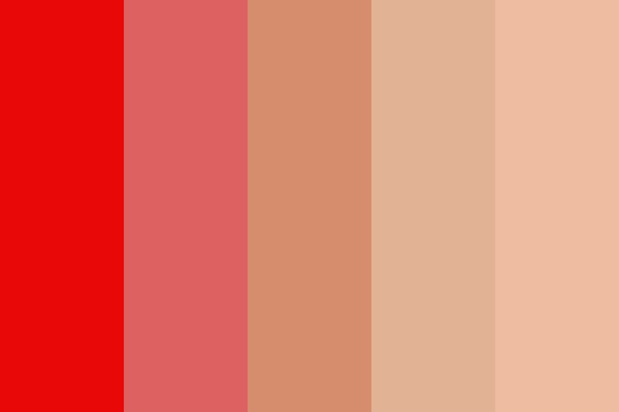 Dying Fire Color Palette