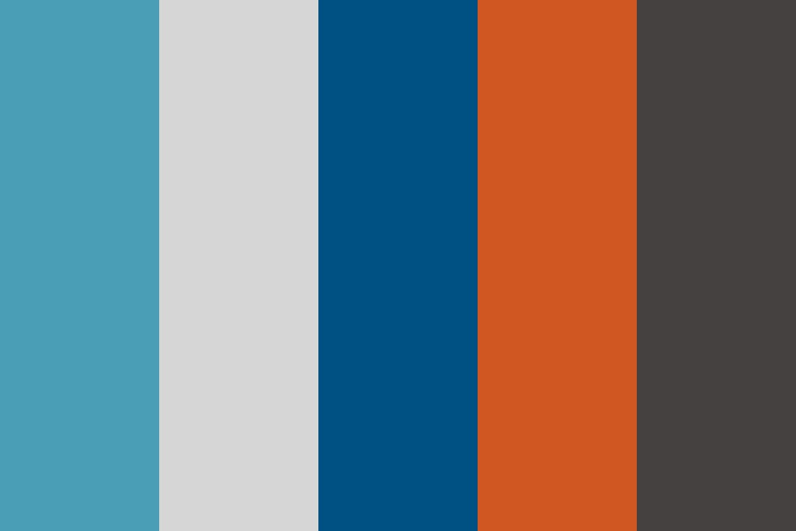 Early Fall Color Palette