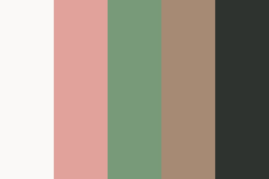 Earth And Bloom Color Palette