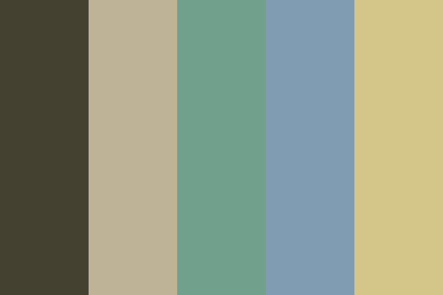 Earth Wall Color Palette