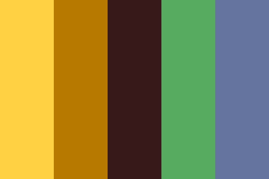 Earthereal Color Palette