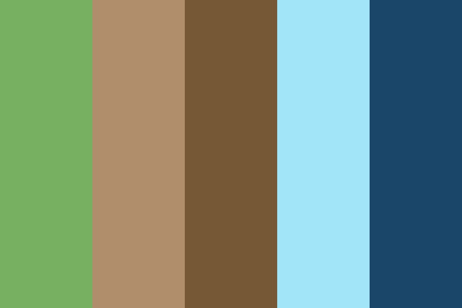 Earthic Ethnicity Color Palette