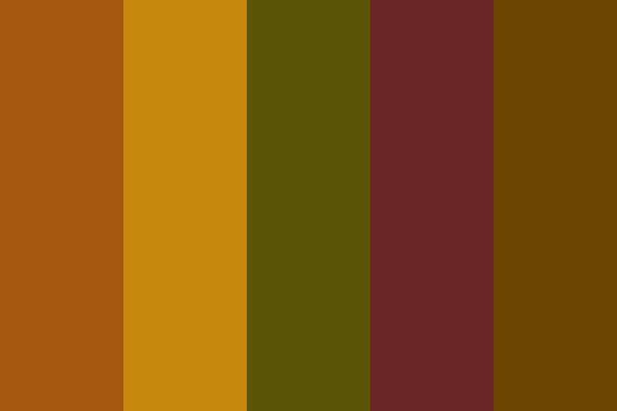 Earthy Autumn Color Palette