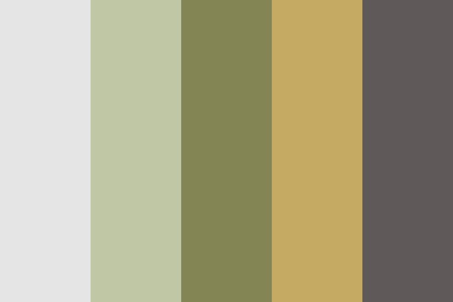 Earthy Glam Color Palette