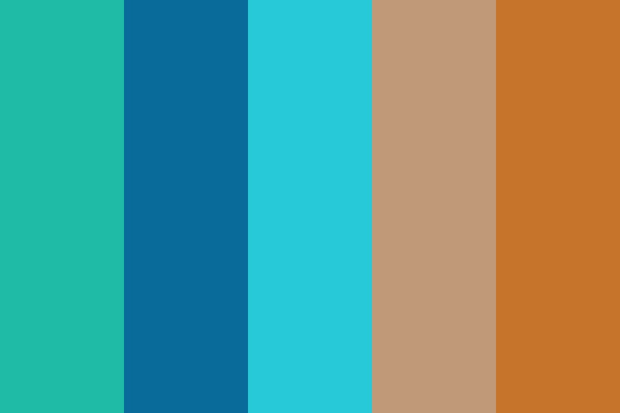 Earthy Whitehat Color Palette
