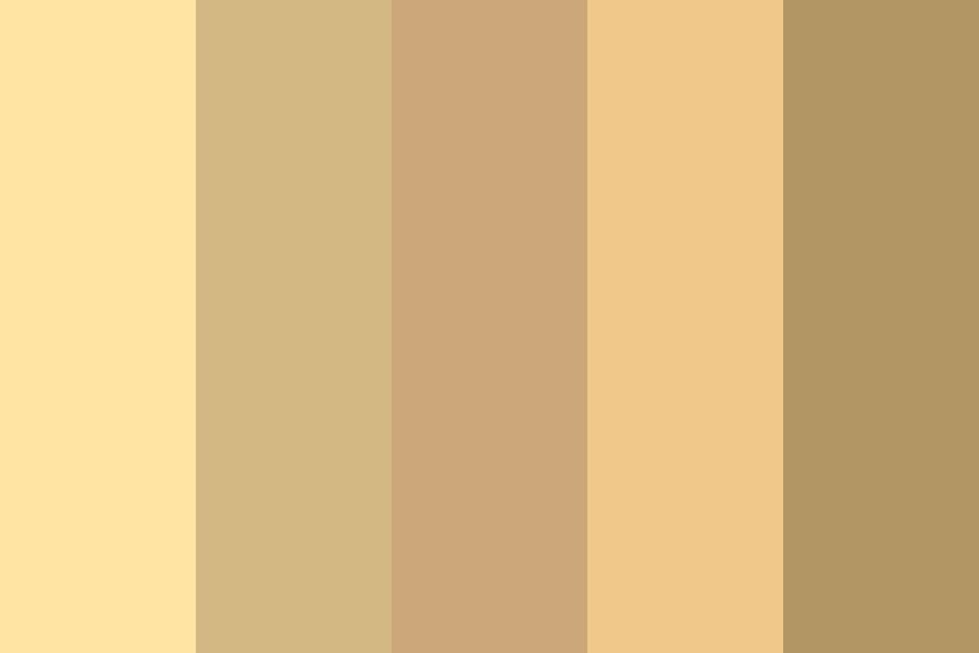 Earthy Wood Color Palette