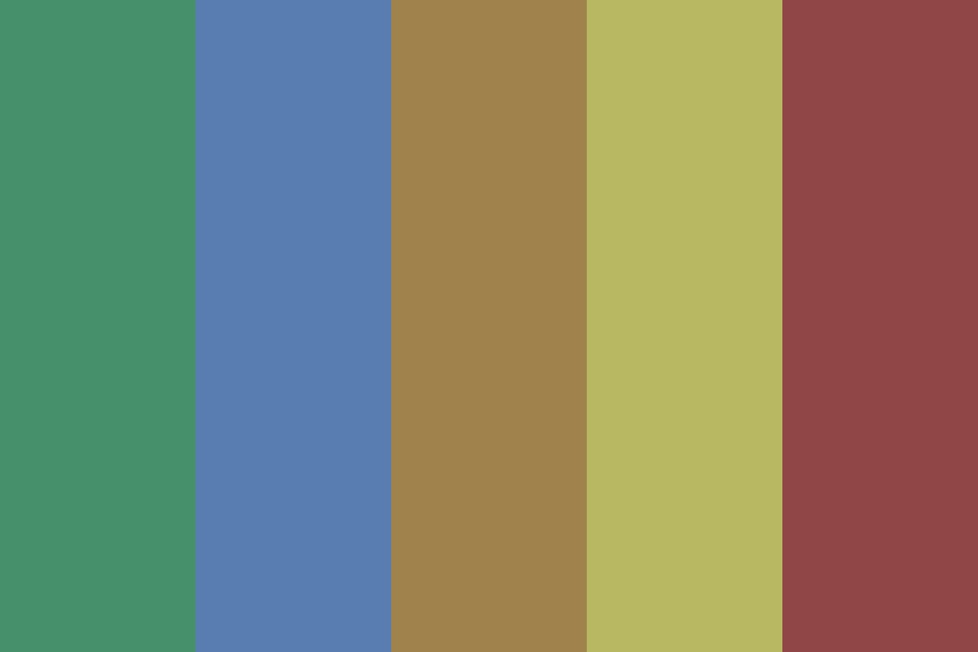 Earthyyy Color Palette