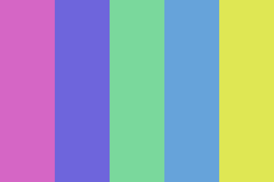 Easter Pastel Color Palette