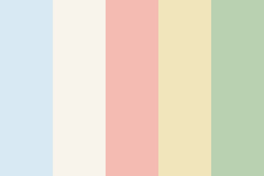 Easy Email Pastels Color Palette