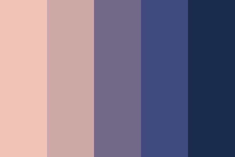Eating Sky Color Palette