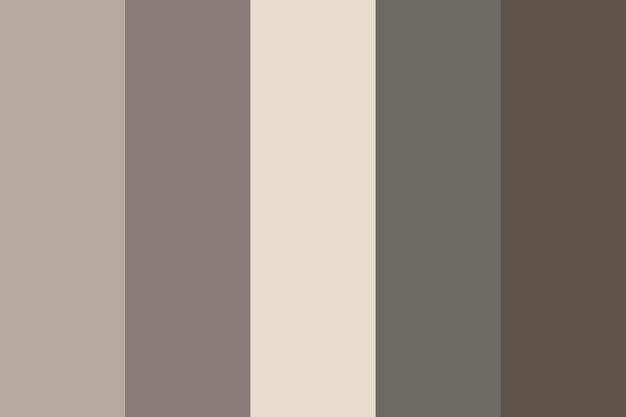 Edgy Greyscale Color Palette
