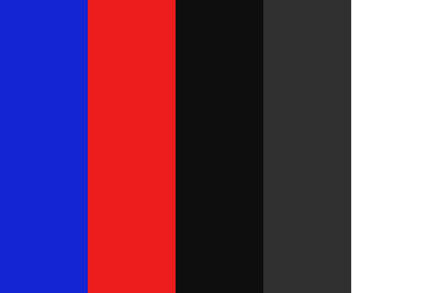 Eerie Television Aesthetic Color Palette