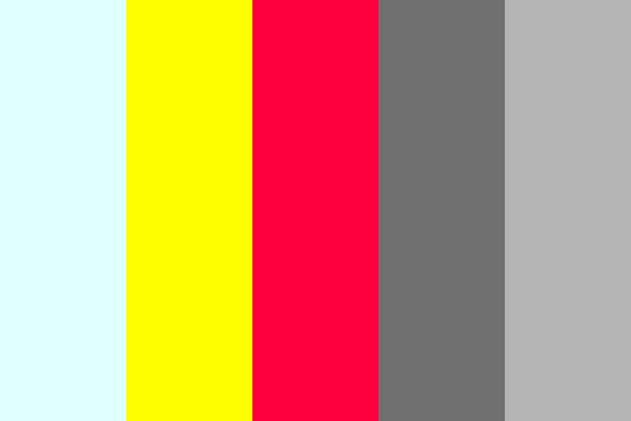 Electric And Gray Color Palette