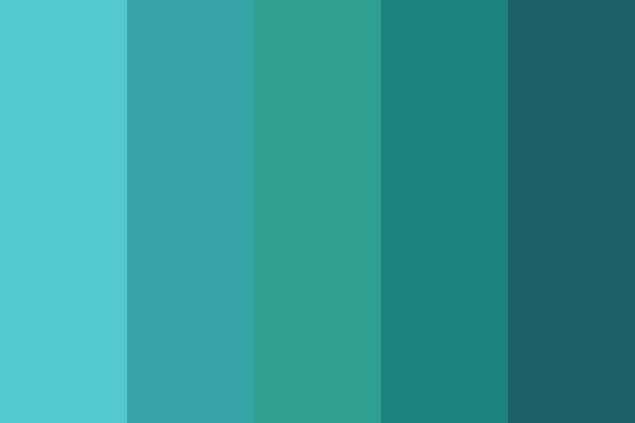 Emerald Green Day Color Palette