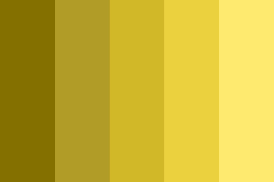 Empty Gold Color Palette