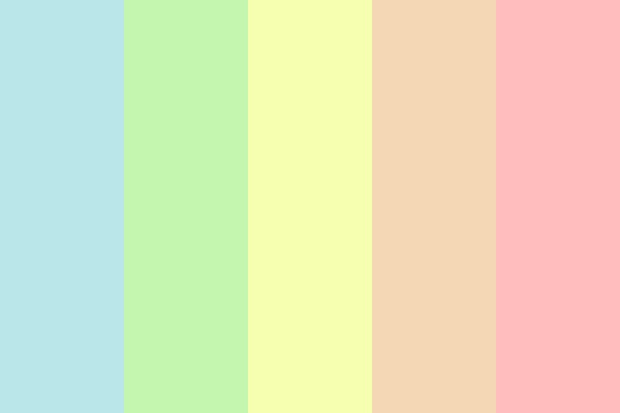 End Of The Rainbow Color Palette