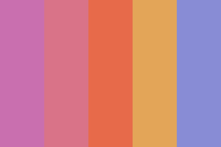 English Sunset Color Palette