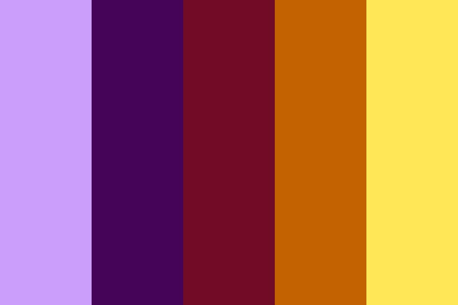 Equatorial Sunset Color Palette