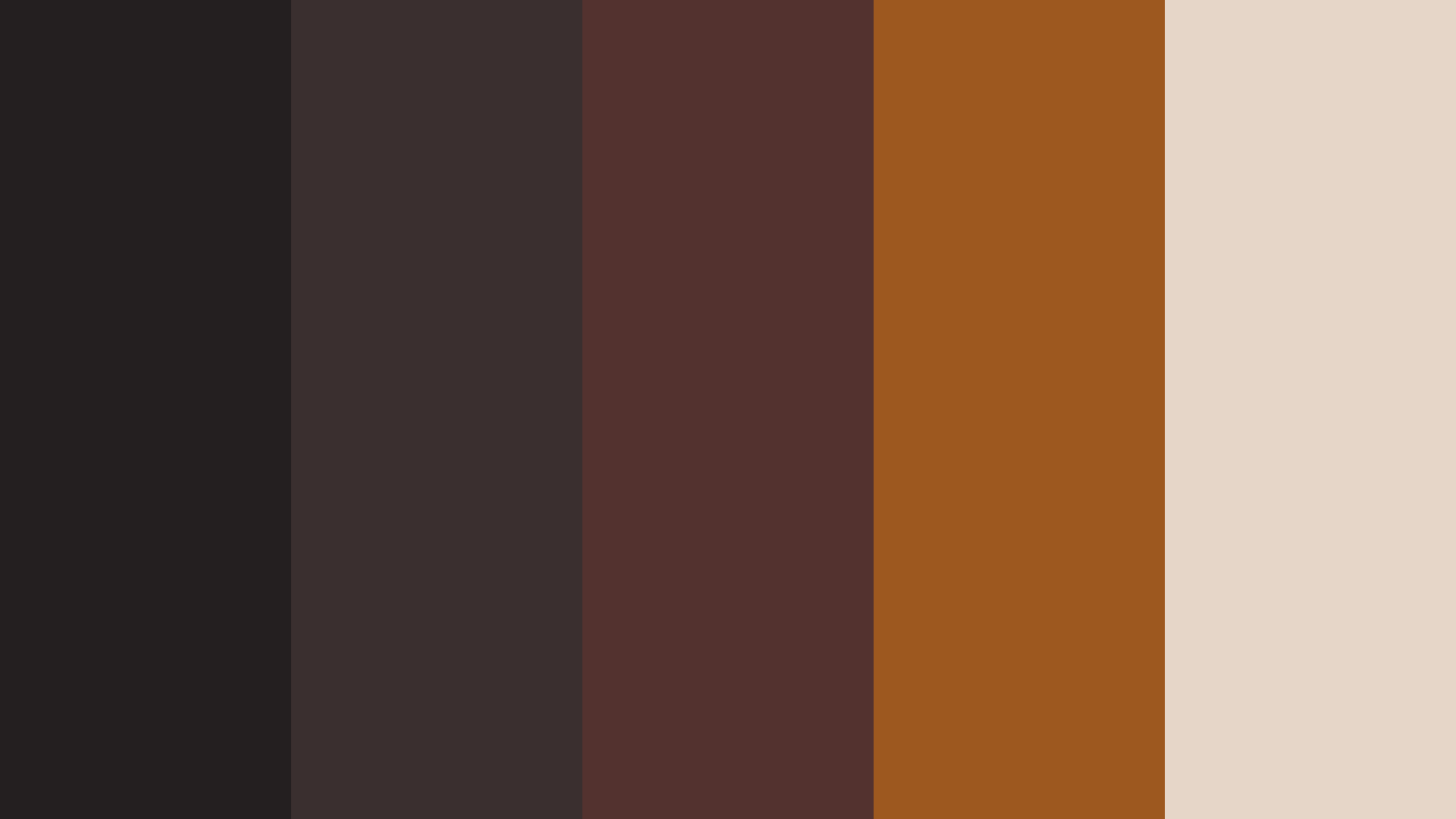 Espresso Coffee Color Palette