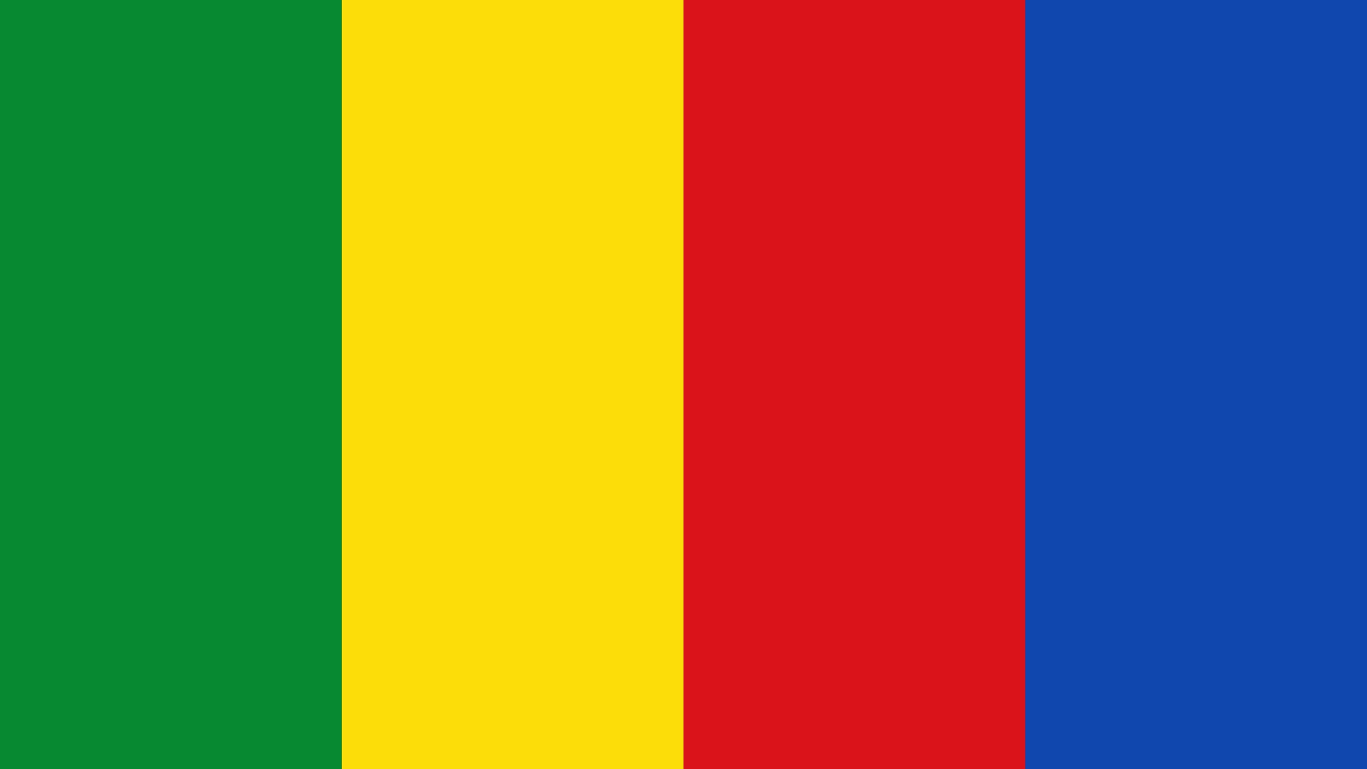 Ethiopia Flag Color Palette