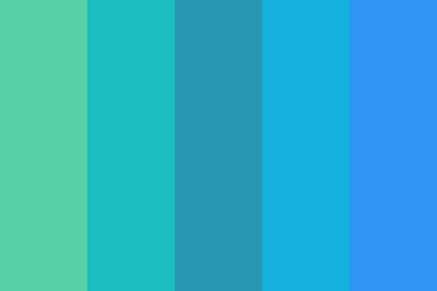 Everbluegreen Color Palette