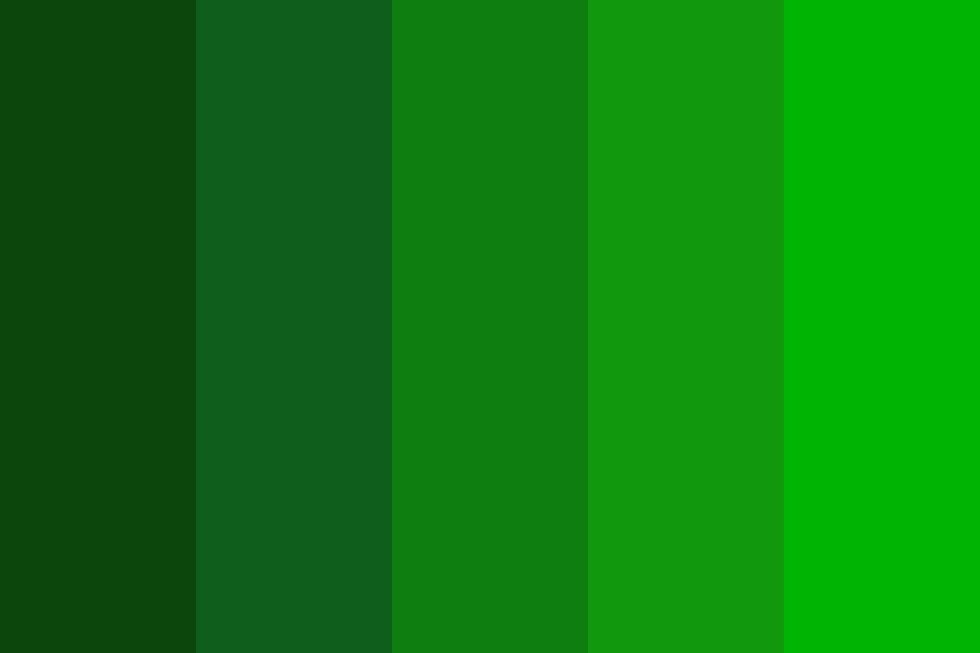 Evergreen Swag Color Palette