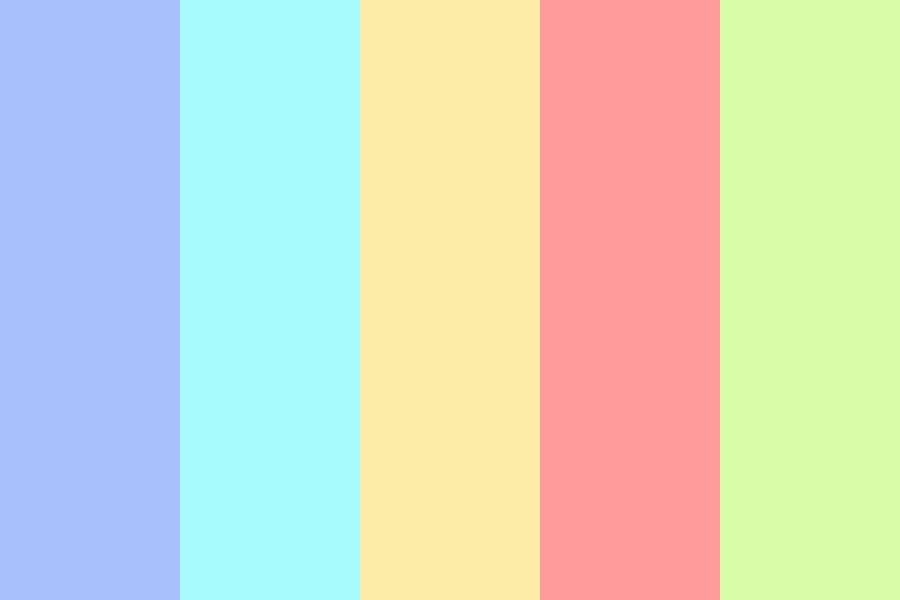 Everybody Edits Pastel Color Palette