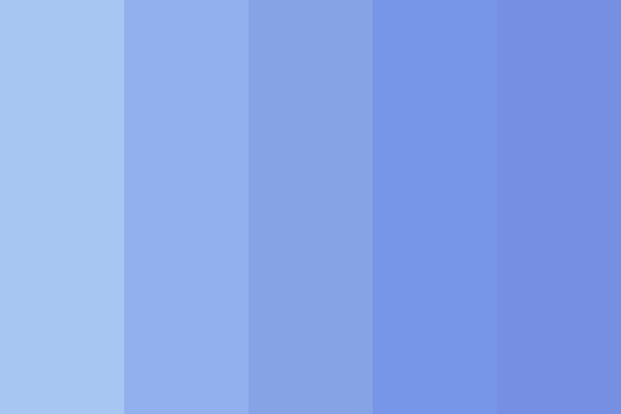Everything Is Blue  Color Palette