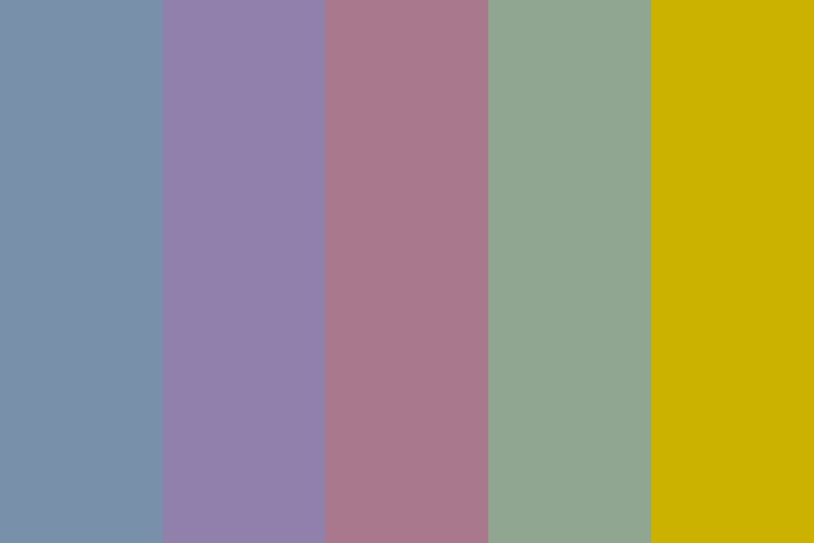 Extended Wedding Palette Color Palette