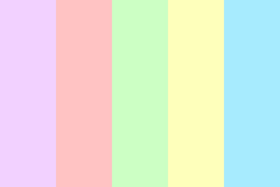 Extremely Pastel Color Palette