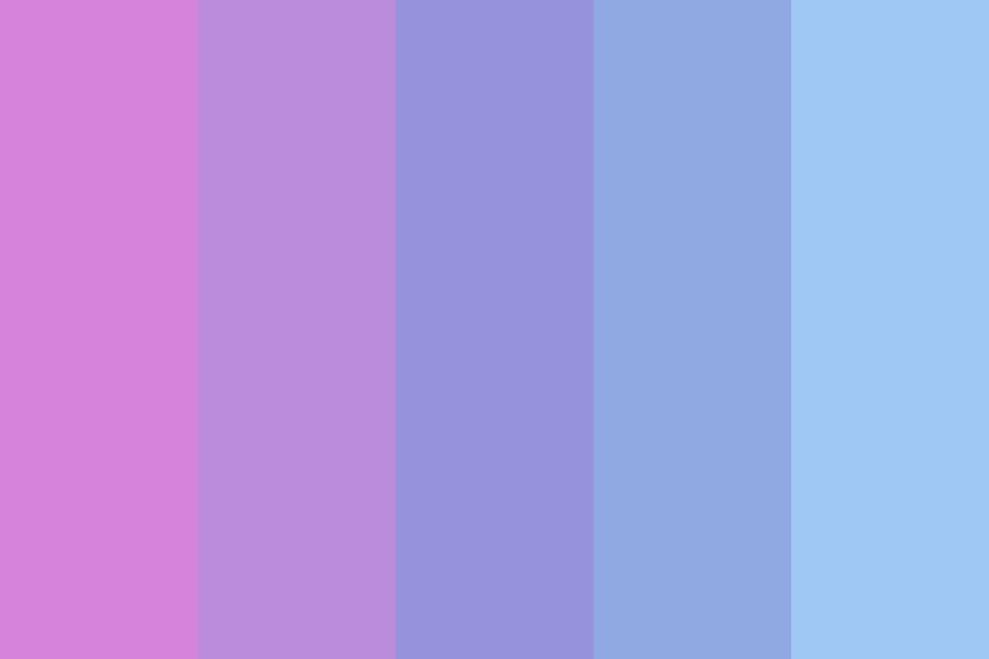 Eyes In The Blue Sea Color Palette