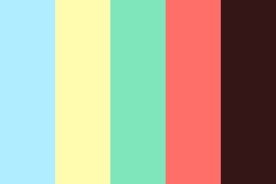 Faded Beach Color Palette