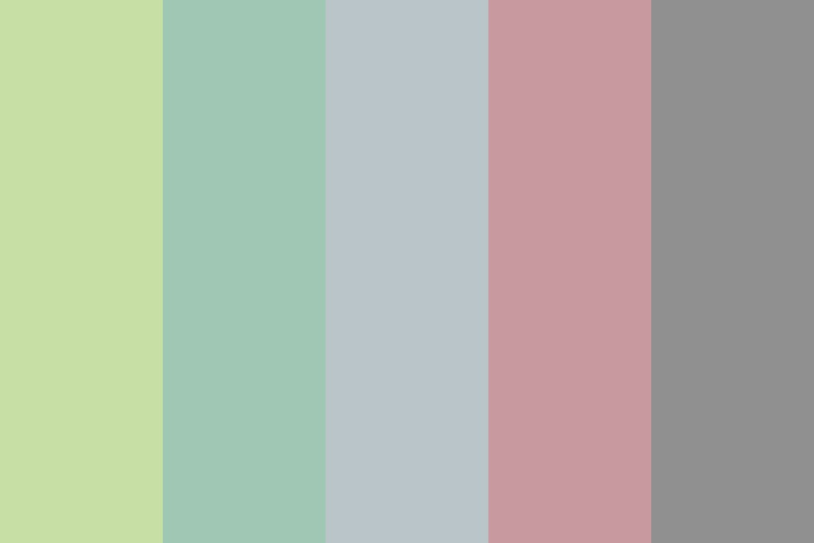 Faded Spring Color Palette