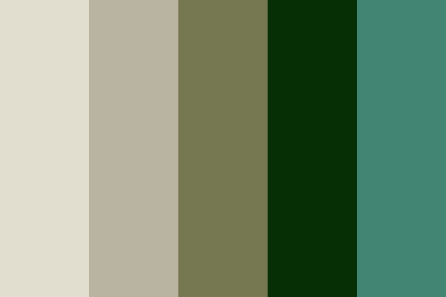 Fading Forest Color Palette