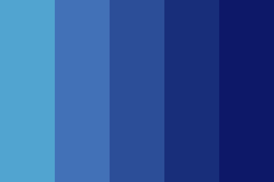Fading Night Color Palette