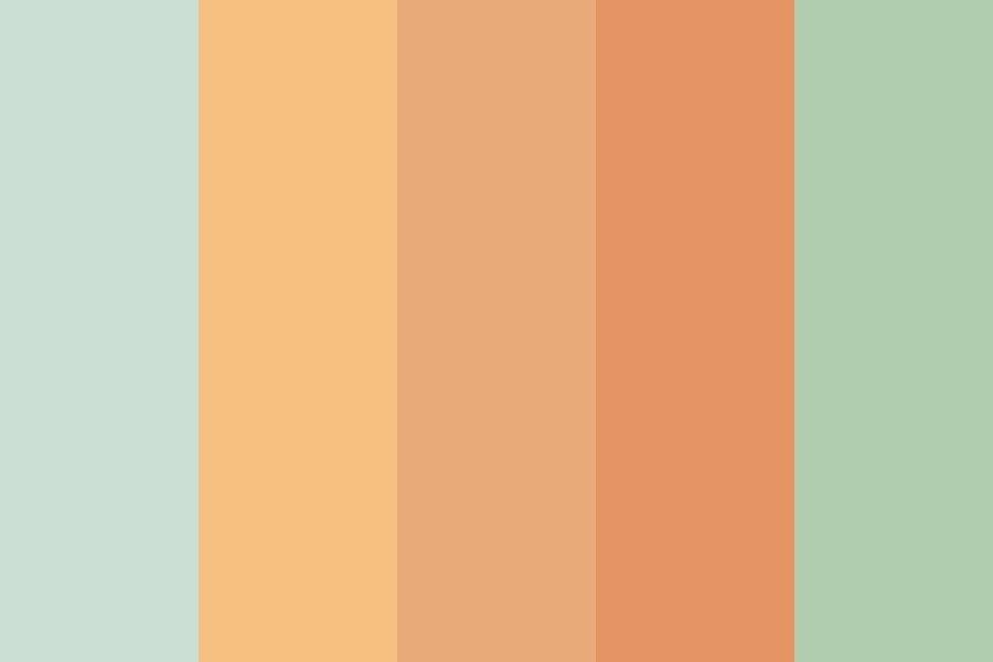 Fading Out Of Summer Color Palette