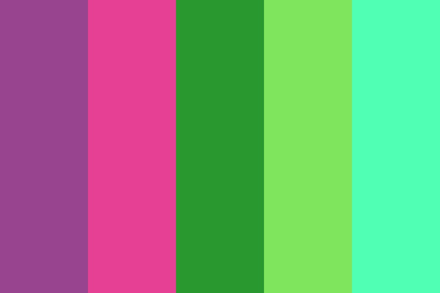 Fae Royal Color Palette