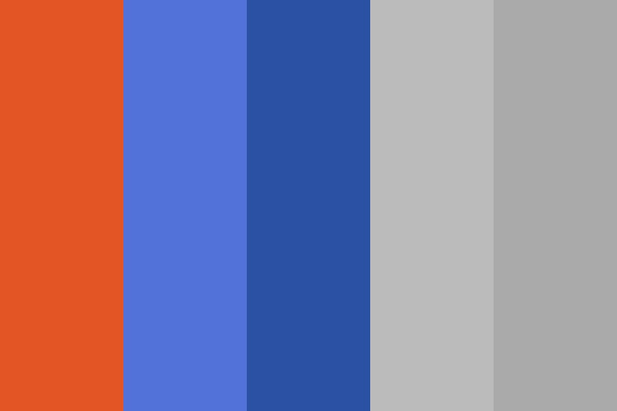 Fall And Winter Sports Color Palette